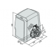 BFT Ares Bt A 1000 Kapı Motoru Seti