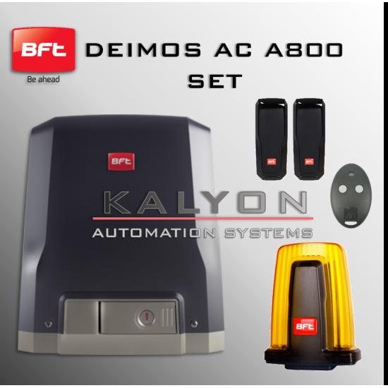 BFT Deimos AC A800 Kapı Motoru Seti