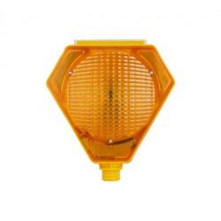 Solar Warning Lamp - Yellow