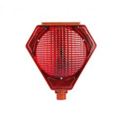 Solar Warning Lamp - Red