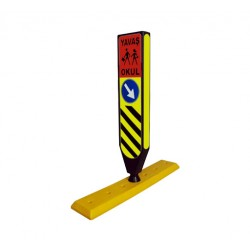 Based Flexible Median Head Signboard