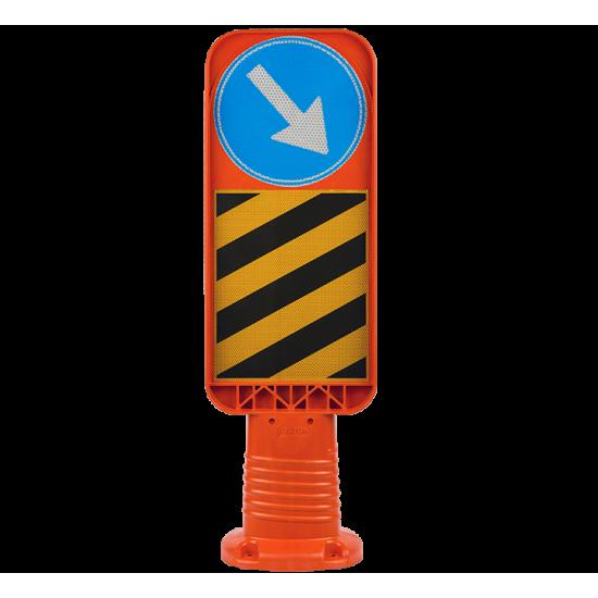 30cm Flexible Median Head Sign