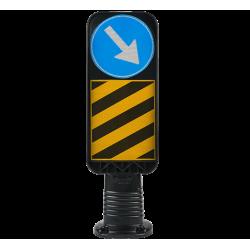 30 CM flexible Median Head Sign