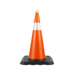 75cm Unbreakable Traffic Cone (Single Reflective) WEIGHT