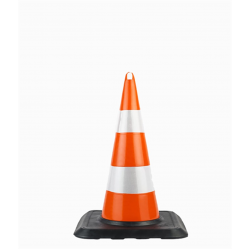 75cm ECO Unbreakable Traffic Cone (Double Reflective) WEIGHT